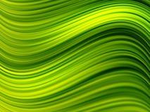 Ondas verdes Fotos de archivo