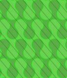 Ondas verdes retras del corte diagonal 3D Fotos de archivo libres de regalías