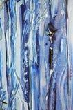 Ondas verticales casuales caóticas abstractas de los lenguados Foto de archivo libre de regalías