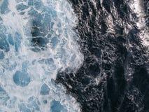 Onde 02 del mare Fotografia Stock