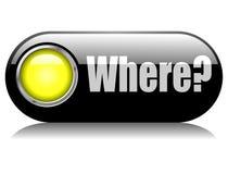 Onde? Fotografia de Stock Royalty Free