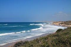 Spiaggia di Palmahim Immagini Stock Libere da Diritti