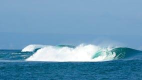 Onde in Bali Immagini Stock