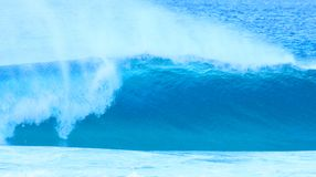 Onde bleue photographie stock libre de droits