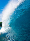 onde bleue Photo stock