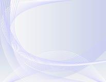 onde bleue de fond Image libre de droits