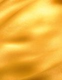 Onde d'or de tissu Images libres de droits