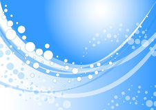 Onde d'eau Image libre de droits