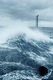 Onde de marée Photographie stock libre de droits