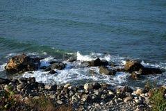 Onde de mer Photos libres de droits