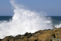 Onde de mer de Bryzgi. Image stock