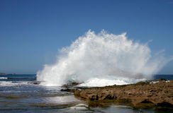Onde de rupture Photographie stock