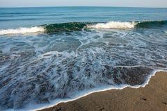 Onde del Mar Nero, Bulgaria Immagine Stock Libera da Diritti