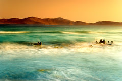 Onde del mare Fotografia Stock