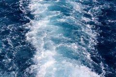 Onde del mare nell'egitto Fotografia Stock