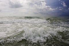 Onde dell'Atlantico Immagini Stock