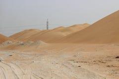 Onde della montagna della sabbia Immagine Stock