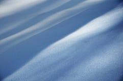 Onde della neve Fotografie Stock Libere da Diritti