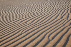 Onde della sabbia Fotografia Stock Libera da Diritti