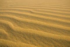 Onde della sabbia Immagini Stock