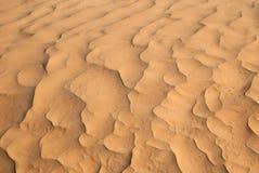 Onde della sabbia Fotografie Stock