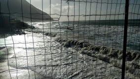 Onde della Sicilia Immagini Stock Libere da Diritti