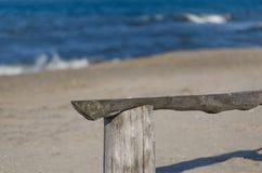 Onde della spiaggia di mattina fotografia stock libera da diritti