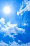 Onde des nuages photographie stock