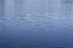 Onde di acqua blu Fotografie Stock Libere da Diritti