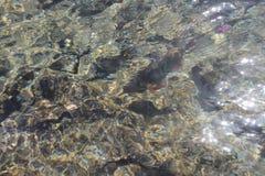 Onde di acqua di Abstact del mare Fotografia Stock