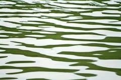 Onde di acqua nel lago fotografia stock