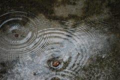 Onde di acqua sulla terra fotografie stock libere da diritti
