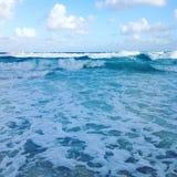Onde di acqua tropicali immagine stock libera da diritti