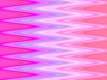Onde di colore rosa illustrazione vettoriale