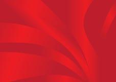 Onde di colore rosso Immagini Stock