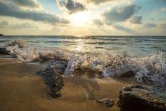 Onde di Haifa Fotografia Stock Libera da Diritti