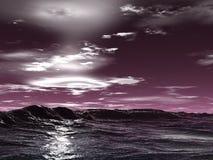 Onde di oceano illustrazione di stock