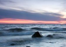 Onde di oceano Immagini Stock