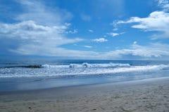 Onde di oceano del Las Palmas Immagini Stock Libere da Diritti
