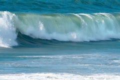 Onde di oceano e spuma Fotografia Stock