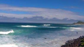 Onde di oceano il Capo di Buona Speranza archivi video
