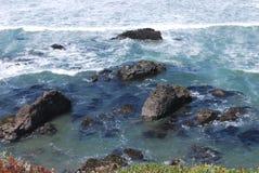 Onde di oceano nell'oceano Pacifico Immagine Stock