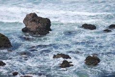 Onde di oceano nell'oceano Pacifico Immagine Stock Libera da Diritti