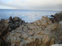 Onde di oceano nell'oceano Pacifico Fotografie Stock Libere da Diritti