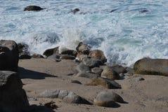 Onde di oceano nell'oceano Pacifico Fotografia Stock