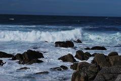 Onde di oceano nell'oceano Pacifico Immagini Stock Libere da Diritti