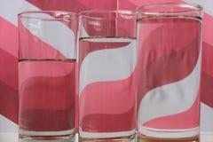 Onde di rosa Immagini Stock Libere da Diritti