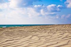 Onde di sabbia Immagine Stock Libera da Diritti