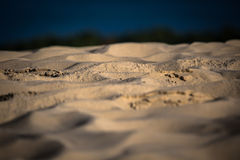 Onde di sabbia sull'più alta duna in Europa - duna di Pyla (Pilat), Fotografia Stock Libera da Diritti