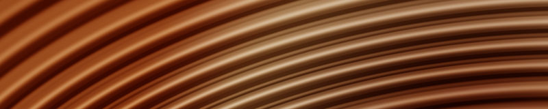 Onde di sogno del cioccolato Immagine Stock Libera da Diritti